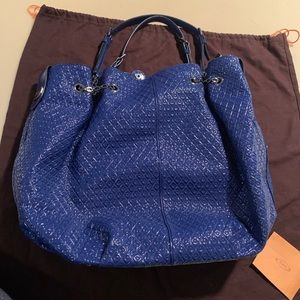Tod's quilted leather bucket bag